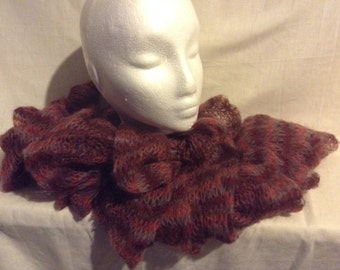 Knitted Twirl Scarf