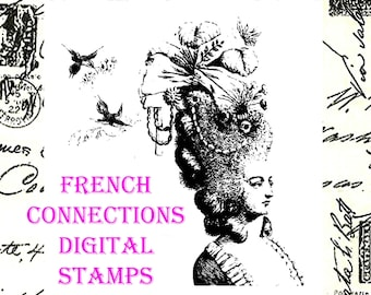 French Connections Digital Stamp Set