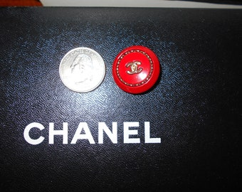 Authentic Chanel Button
