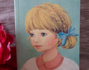 Pastel notebook girl