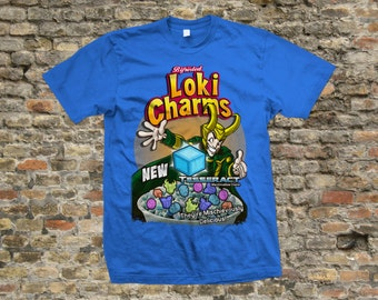 Loki Charms T Shirt 100% cotton - 1062