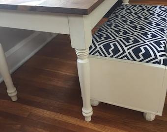 Two-Toned Kid's Farmhouse Table