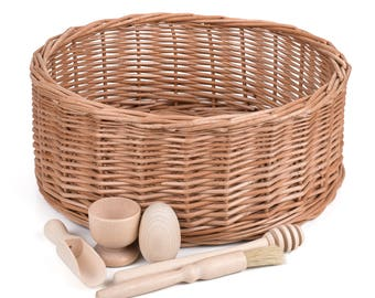 Treasure Basket Starter Kit - Montessori Educational Toy