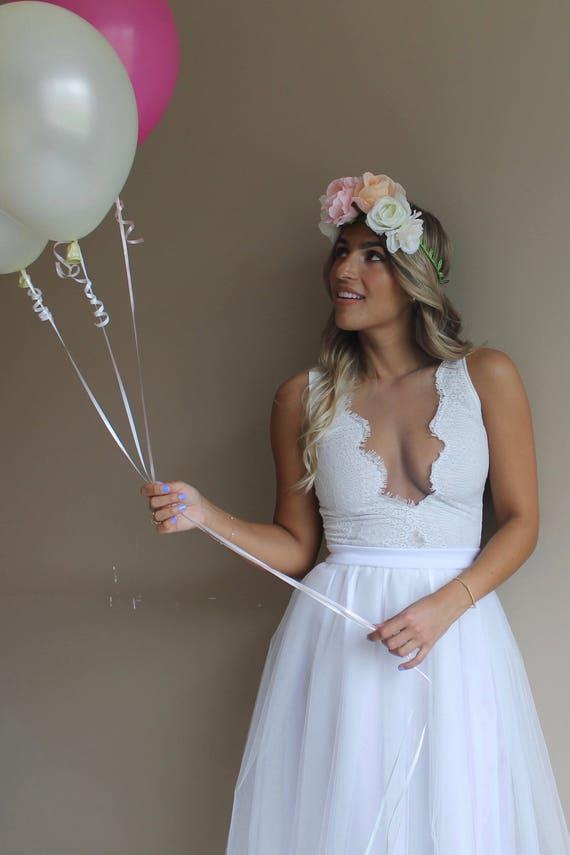 Beach Wedding Dress Short Wedding Dress Simple Wedding