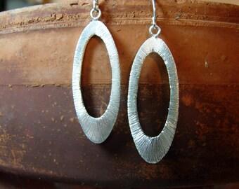 Silver Orbit Earring