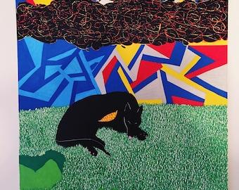 The Sleeping Black Dog