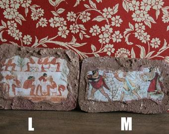 Miniature Roman, Etruscan, Egyptian and Pompeian fresco