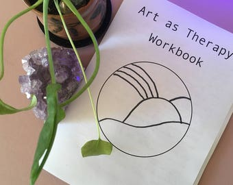 Art as Therapy Workbook