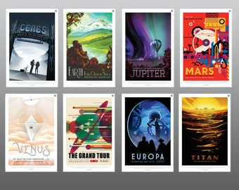 NASA (8) SET - Posters