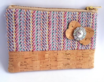 Harris Tweed and Cork Coin Purse