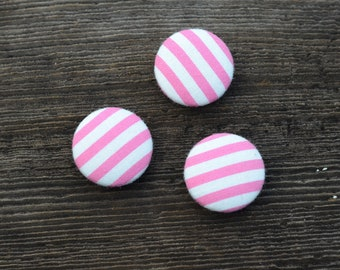 Mini Magnet Gift Set in Pink Stripes (3pk)