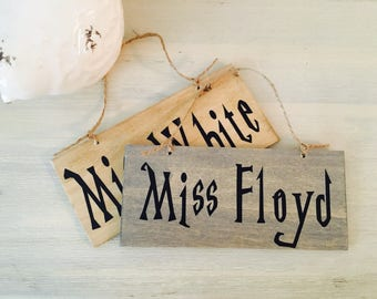 Personalized door signs | Etsy