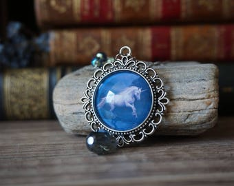 "Necklace ""Running Unicorn"""