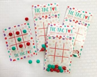 Printable Valentines Day, Printable Valentine - Tic Tac Toe - Valentine Game - Instant Download