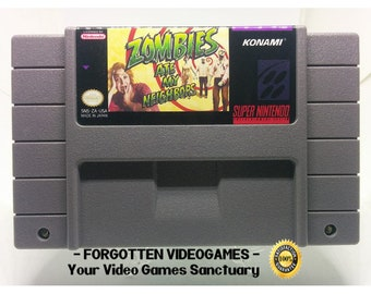 Zombies Ate My Neighbors - SNES Super Nintendo