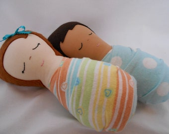 Doll Pattern - Sleepyheads Baby Doll PDF Sewing Pattern