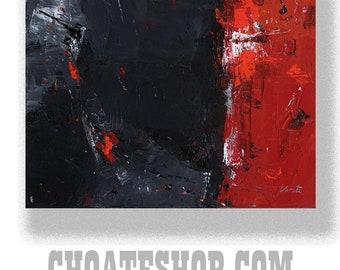 "Abstract Painting. ""Jordan 1"""