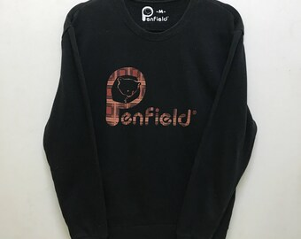 Penfield Sweatshirt Pullover Big Logo Spellout Multicolors