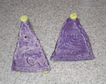 Salt & Pepper Purple     made to order