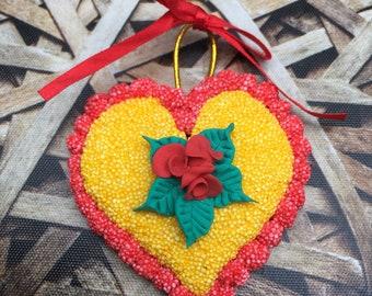 Hanging Love Heart Decoration