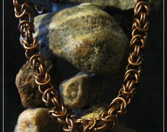 Copper Byzantine Bracelet (No 1015)