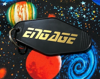 Engage - Star Trek: TNG - Key Tag