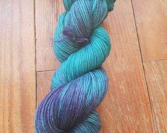 """Add"" - Sport Weight hand dyed wool skein"