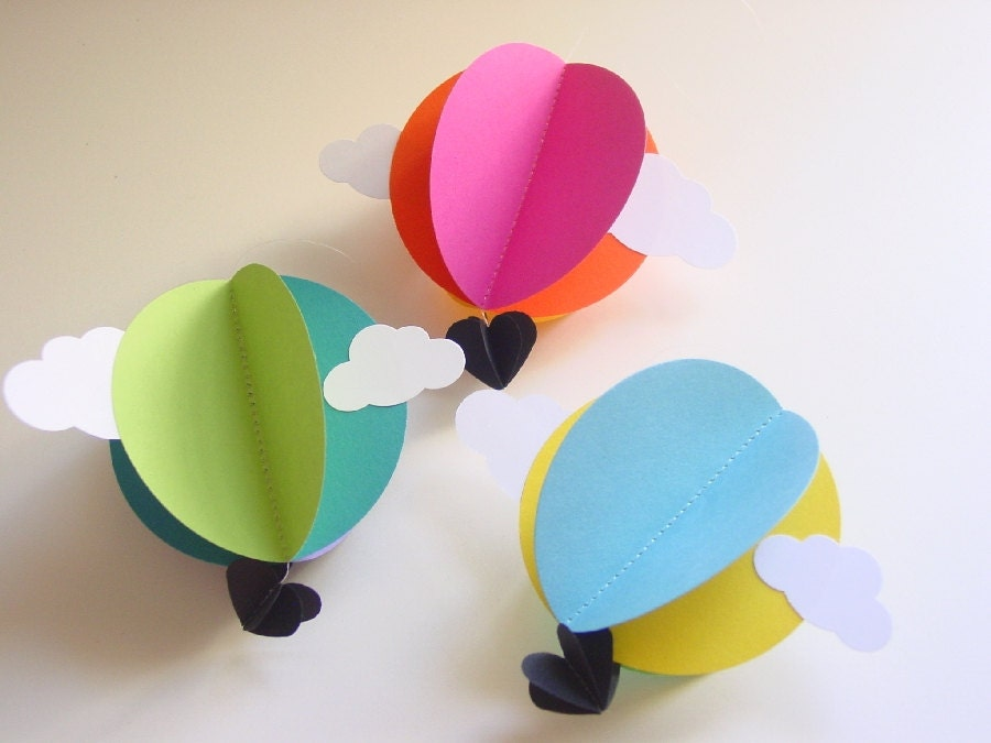 Hot Air Balloon Decorations Travel Theme Baby Shower