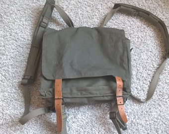 Military bag, Military backpack, Army backpack, mans bag, Vintage army backpack