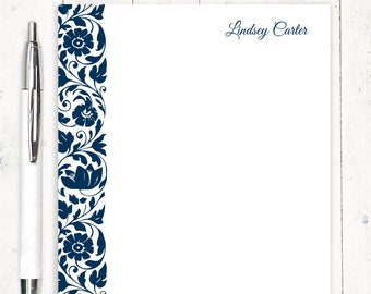 personalized notePAD - LOVELY LINDSEY - womens stationery - stationery - stationary - letter writing paper - custom notepad - pretty paper