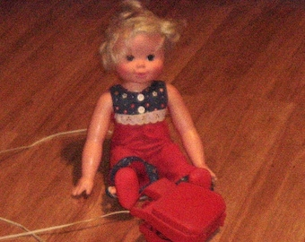 """TIPPY TUMBLES 16"""" DOLL - 1977 (Used)"""