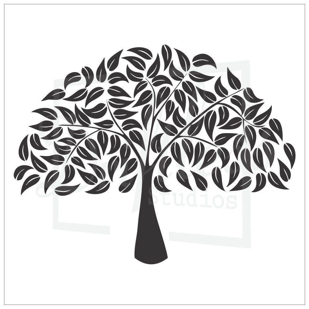 Family Tree Stencil 2 Family Tree Template Tree Stencil
