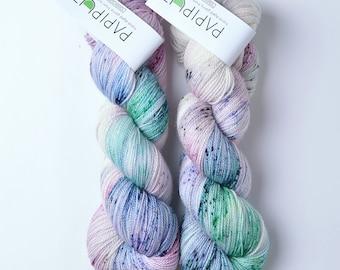 Hand Dyed Papiput Tough Sock Yarn - Chakra
