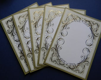 Assorted Christmas Card Bases and Envelopes (581)