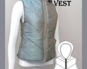 Ladies Padded Vest Sewing Pattern