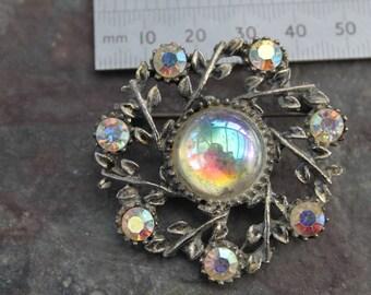 Iridescent Vintage Brooch