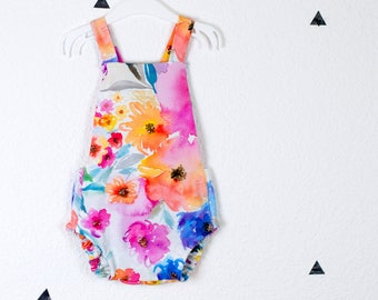 Baby Summer Romper *Summer Flowers*