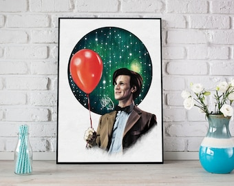 Doctor Who: Eleven - Print / Postcard