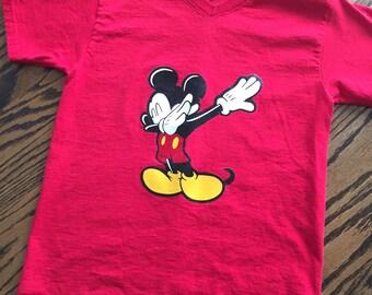 Dabbing Mickey. Boys Disney Shirt. Boys Mickey Shirt, Boys T-Shirt