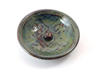 Incense Burner Feng Shui Stoneware Pottery
