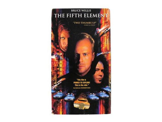 The Fifth Element VHS