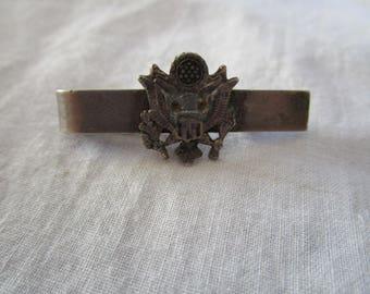 WW II WW 2 U S Army Air Force Sterling Silver Tie Bar