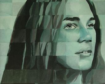 Peggy's Friend, Original Painting by Elizabeth Bauman