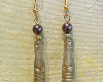 Swarovski Pearl and Czech glass Earrings