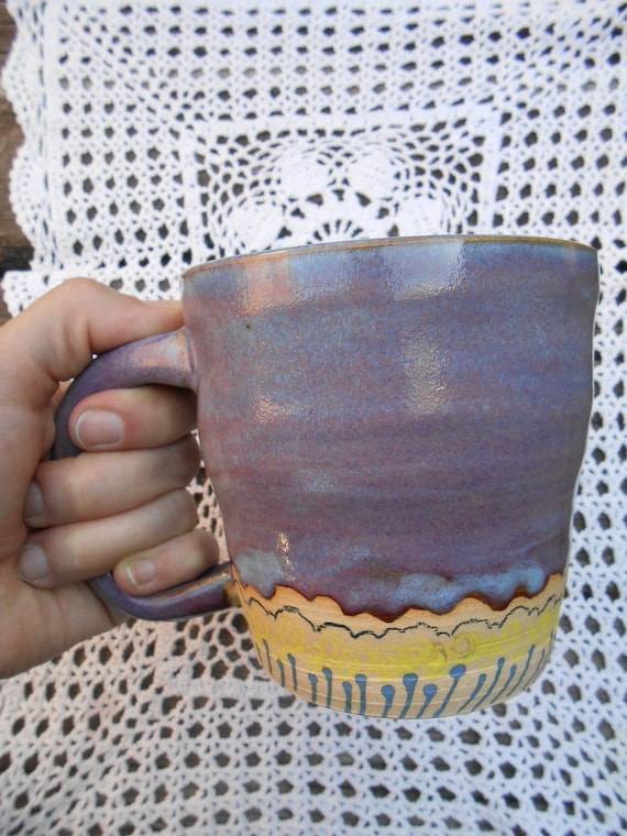 Large Lavender Fields Ceramic Mug