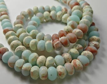 3 Full Strands 5* 8mm  Agate Beads , Gemstone Beads , Stone Beads , Gemstone jewelry , beads , Findings , supplies