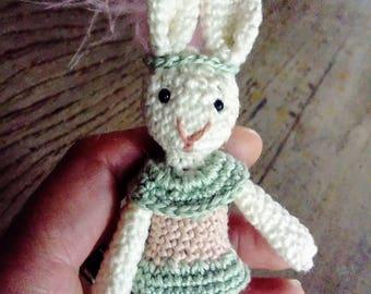 Tiny rabbit so cute