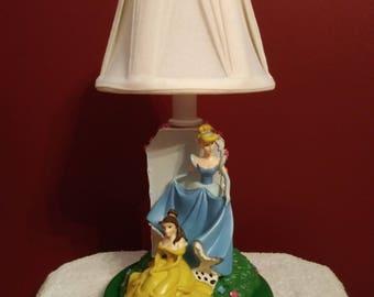 Cinderella & Belle Accent Lamp