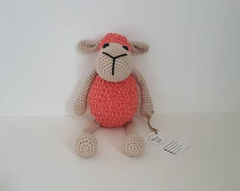 Sheep Toy, Crochet Sheep Toy, Cute Soft Sheep Toy, Sheep Plushie, Handmade Crochet Sheep, Amigurumi Sheep - MADE TO ORDER
