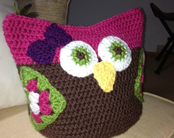 PATTERN Crochet Toy - Owl Large and Small
